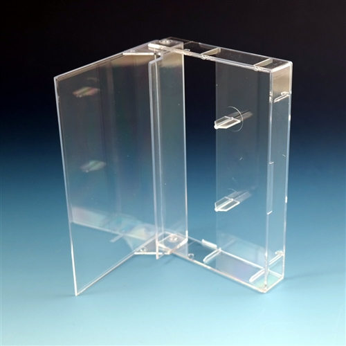 Clear Norelco Cassette Case 10 Pack