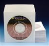 white paper cd dvd sleeve with flap