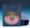 blue paper cd dvd sleeve with flap