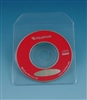 Vinyl Sleeve with Flap for 80 mm CD, DVD (50 Pack)