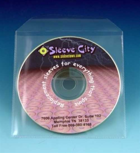 Diskeeper Budget Polypro Cd Sleeve With Flap