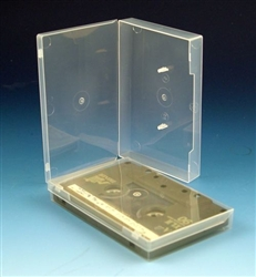clear cassette polybox