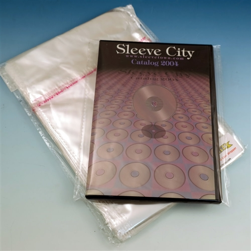 Clear DVD Case Wrapper (100 Pack)