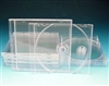 Single Premium CD Jewel Case Clear Tray Unassembled (Case of 200)