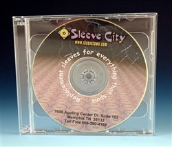 Slim Double Jewel Case with ClearTray Assembled  SAMPLE