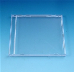 Clear Jewel Case Without Tray SAMPLE