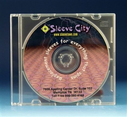 5.2 mm ultraslim clear cd jewel case sample