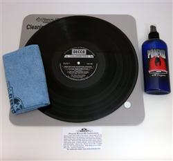Deluxe Phoenix Record Cleaning Kit for Vinyl