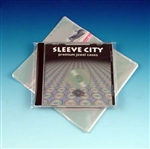 resealable mylar single jewel case outer sleeve