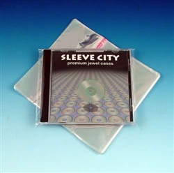 Resealable Mylar Single Jewel Case Outer Sleeve Sample