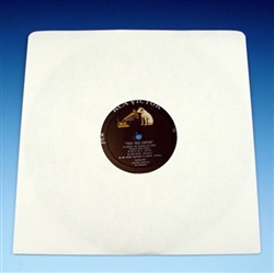 acid free white paper 10 inch record sleeve sample