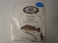 Tog/Blackfish Single Belmar Rig