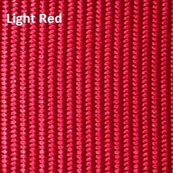 Hot Shoe Straps Solid Light Red 3/4""