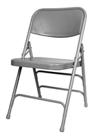Discount Prices Grey Metal Folding Chair