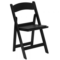 Cheap Black Resin Folding Chair