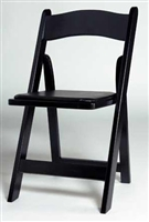 Free Shipping folding Black resin chair