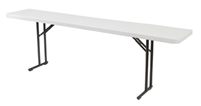 "18 x 72"" discount Seminar Plastic Folding Table, Plastic folding tables cheap price"