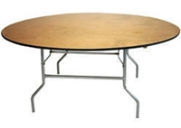 "72"" Round Wholesale Prices for Round  Folding Tables,"