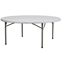 "72"" Plastic Folding Tables 