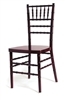 European Mahogany Chiavari Chair at Discount Wholesale Prices - Hotel Chiavari Chair