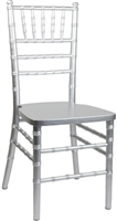 Silver free shipping Chiavari chairs, cheap prices