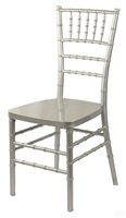 Discount Prices Silver Resin Chiavari Chair