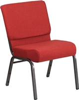 Off White Fabric Church Chapel Series Stacking Chapel Chair, North Carolina Church Chairs, Lowest prices stacking Chapel Chairs