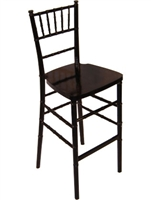 Cheap Black Chiavari Bar Stool