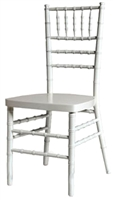 White Chiavari Wood Chair on Sale, New York Chiavari Chairs