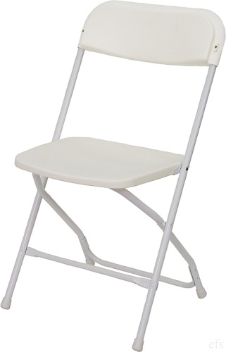Sensational White Poly Folding Chair 800 Lb Cap Creativecarmelina Interior Chair Design Creativecarmelinacom