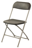 Mississippi Discount Charcoal Folding Chair