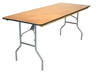 FREE SHIPPING  8ft Banquet Folding Tables, Banquet Folding Tables | Round Table