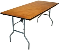 30 x 96 Plywood Folding Tables, Wood Folding Tables,  Commercial Wood Folding Tables,Folding Wood Tables,