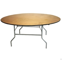Discount Prices FREE SHIPPING  72'  Round Folding Tables, California Banquet Folding Tables | Round Tables