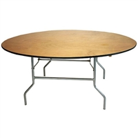 "72"" Round Cheap Plywood Round Folding Tables"