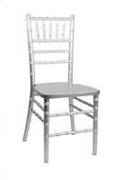 Silver Resin Steel Core Chiavari  Chair