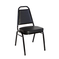 Banquet Chair Black Vinyl