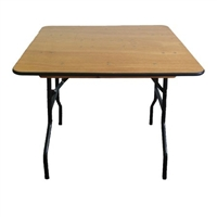 "60"" Square PLYWOOD FOLDING TABLES, WHOLESALE PLYWOOD FOLDING"