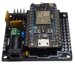 Actuonix IOT Shield and Particle Photon Bundle