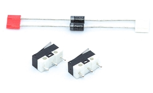 linear actuator with adjustable limit switches