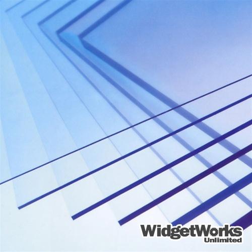 "12/"" x 12/"" x 1//4/"" Clear Polycarbonate Sheet Lexan Makrolon Vacuum Forming"