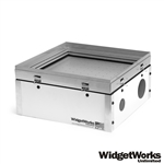 "12""x12"" Hobby Vacuum Former - Make Your Own Thermoform Plastic Prototypes, Clamshell Packaging, Custom Molds, Scale Model Parts, and Movie Props - WidgetWorks Unlimited"