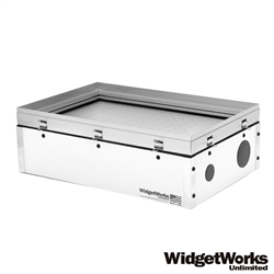"12""x18"" Hobby Vacuum Former - Make Your Own Thermoform Plastic Prototypes, Clamshell Packaging, Custom Molds, Scale Model Parts, and Movie Props - WidgetWorks Unlimited"