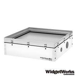"18""x18"" Hobby Vacuum Former - Make Your Own Thermoform Plastic Prototypes, Clamshell Packaging, Custom Molds, Scale Model Parts, and Movie Props - WidgetWorks Unlimited"