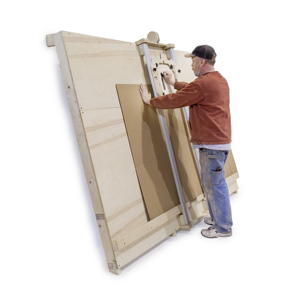 Diy Panel Saw Kit Build Your Own Panel Saw Accurate To 1