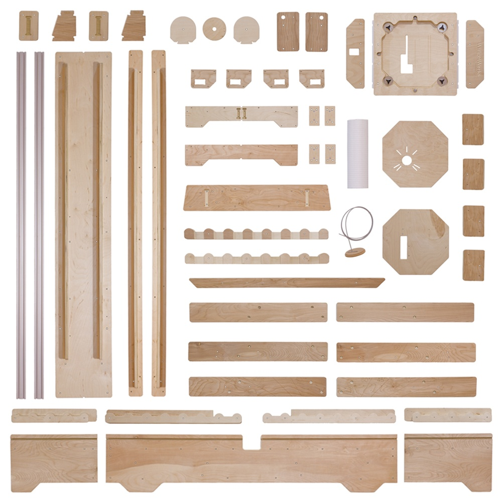 Deluxe Panel Saw Kit - Wall Mount Version - Build your own ...