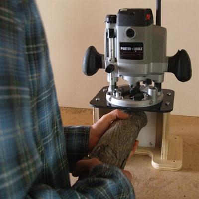 Log Furniture Tenon Cutter Jig Build Log Furniture W