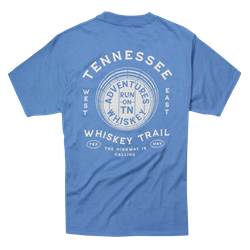 Adventures Tee - Denim Blue