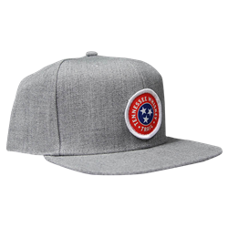 Snapback Cap - Heather Grey