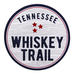 "Tennessee Whiskey Trail 3.5"" Round Sticker"